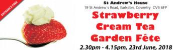 Strawberry Cream Tea & Garden Fete